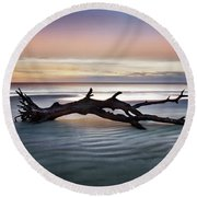 Morning Ecstacy Round Beach Towel