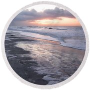 Morning In South Carolina  Round Beach Towel