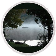 Morning Mist 1008 Round Beach Towel