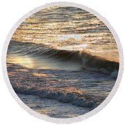 Morning Promise Round Beach Towel