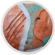 Mornings - Tile Round Beach Towel