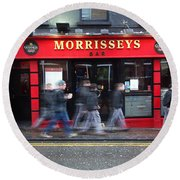 Morrissey Round Beach Towel