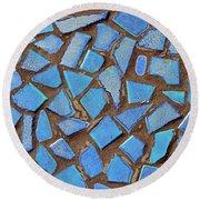 Mosaic No. 31-1 Round Beach Towel
