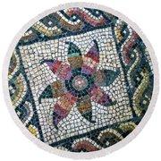 Mosaico Pavimentale Round Beach Towel