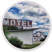 Motel Round Beach Towel