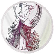 Mother Nature 3 Round Beach Towel