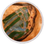 Mothers Arms - Tile Round Beach Towel