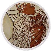 Mothers Glow - Tile Round Beach Towel