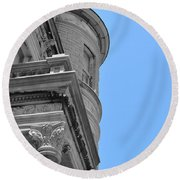 Mount Vernon Place Round Beach Towel