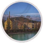Mountain Industry Round Beach Towel