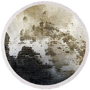 Mountain Mists Round Beach Towel