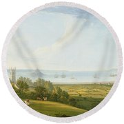 Mounts Bay From Ludgvan Round Beach Towel