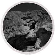 Mouth Of Rock Round Beach Towel