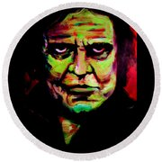 Mr. Cash Round Beach Towel