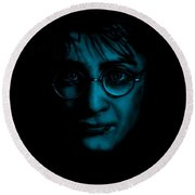 Mr Harry Potter Round Beach Towel