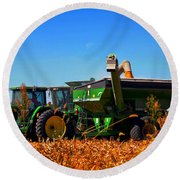 Mrs John Deere Round Beach Towel