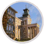 Mt St.mary Academy Round Beach Towel