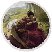 Mulready: Sonnet, 1839 Round Beach Towel