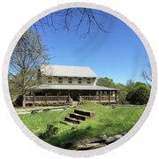 Musgrove Mill Sc State Historic Site Round Beach Towel by Kelly Hazel