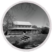Musgrove Mill South Carolina State Historic Site Round Beach Towel by Kelly Hazel