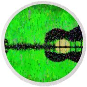 Music World - Da Round Beach Towel
