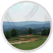 Musket Ridge Golf - In The Foothills Of The Catoctin Mountains - Par 5 - 10th Round Beach Towel