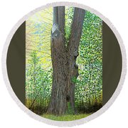 Muskoka Maple Round Beach Towel