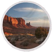 Mv Mesa Sunrise 7656 Round Beach Towel