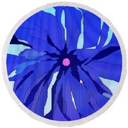 My Fantastic Flower Round Beach Towel