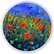 My Garden 88512 Round Beach Towel