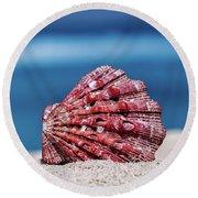 My Shell Round Beach Towel