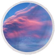 Mystery Cloud Round Beach Towel