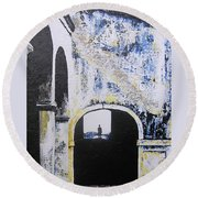 Mystical Moment Round Beach Towel
