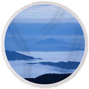 Mystique Round Beach Towel