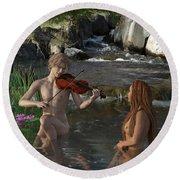 Naecken - The Nix Round Beach Towel