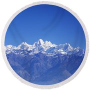 Nagarkot View Round Beach Towel