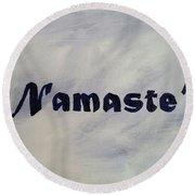 Namaste' Round Beach Towel