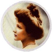 Nancy Witcher Langhorne Astor Round Beach Towel