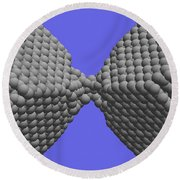 Nanoscale Ductility, 1 Of 2 Round Beach Towel