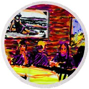 Nantucket Arno's  Round Beach Towel