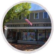 Nantucket Murrays Toggery Shop - Y1 Round Beach Towel