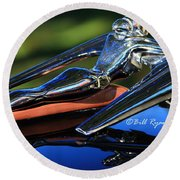 Nash Ambassador Hood Ornament  Round Beach Towel