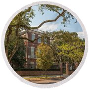 Nathaniel Russell House Round Beach Towel