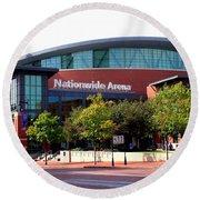 Nationwide Arena Round Beach Towel