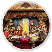 Natividad  Round Beach Towel