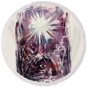 Nativity 1 Round Beach Towel