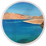 Natural Landscape Round Beach Towel