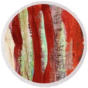 Natural Textures Round Beach Towel