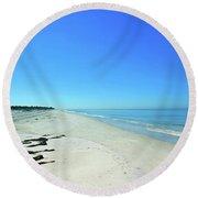 Nature Coast Round Beach Towel