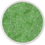 Nature Free Round Beach Towel